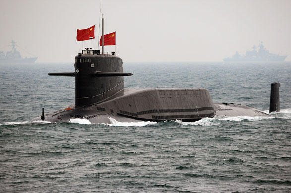 Ponorka triedy Xia (Zdroj: Military Today)