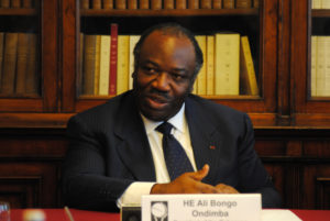 Prezident Ali Bongo