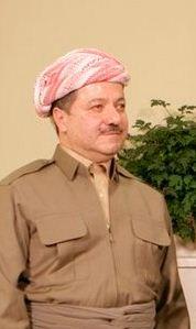 Mansúd Barzání (zdroj: Wikimedia)