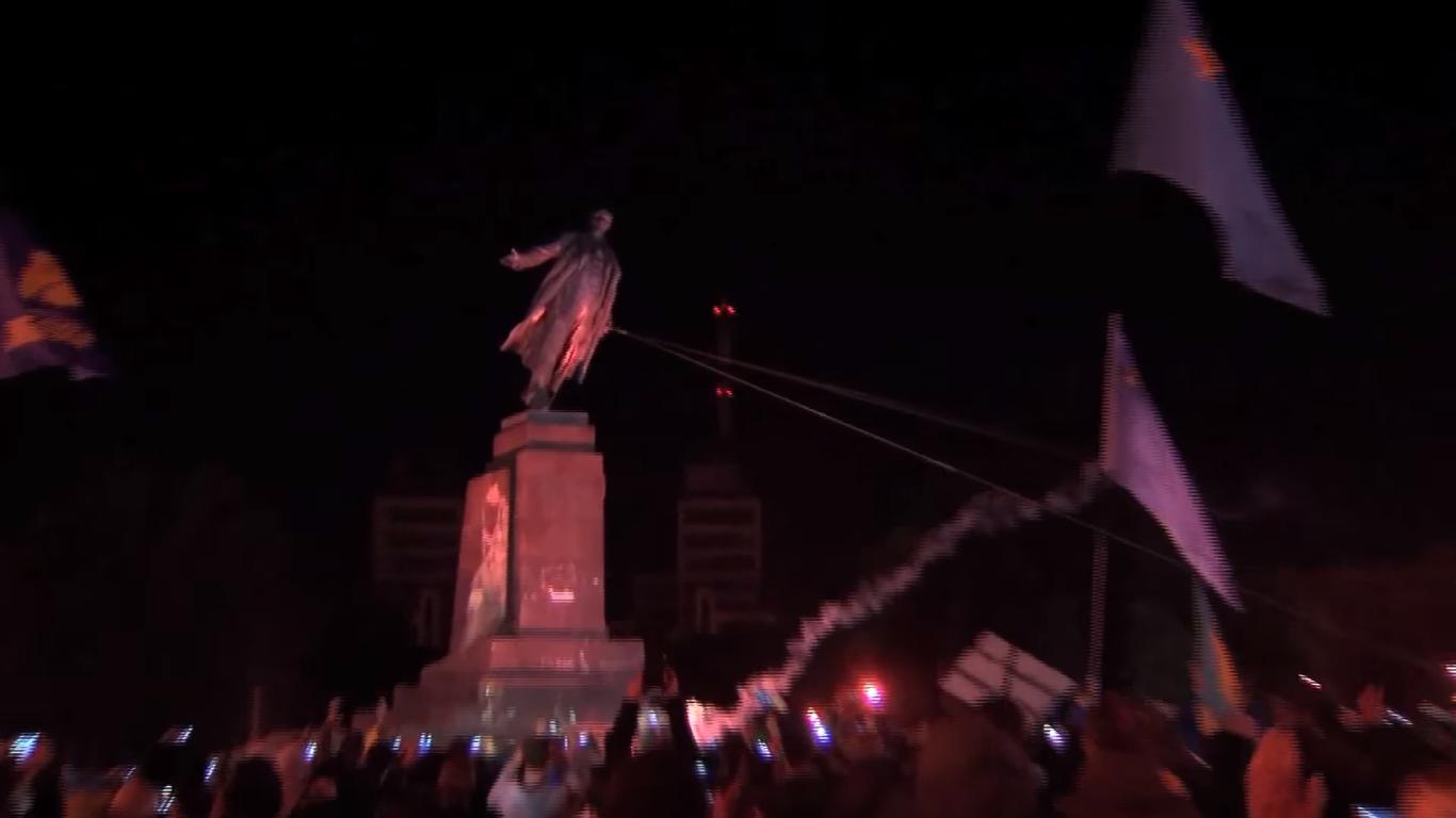 Leninfall. Did Ukrainians set themselves free?